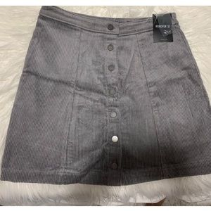 NWT Forever 21 Button Up Skirt